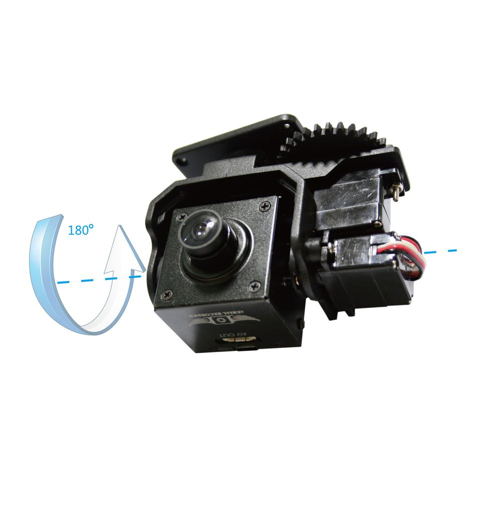 Поворотный механизм для камеры своими руками