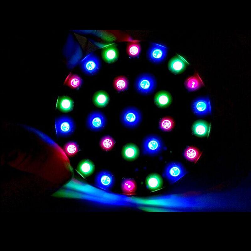 C51 RGB Colorful Crystal LED DIY Kit Crystal Light Cube Circle Aurora Power Circle for Training/Funny(China (Mainland))