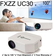 New 3D Mini Multimedia LED Projector Home Education Cinema Video AV TV VGA HDMI USB TF Card Free Shipping for Russia Brazil(China (Mainland))