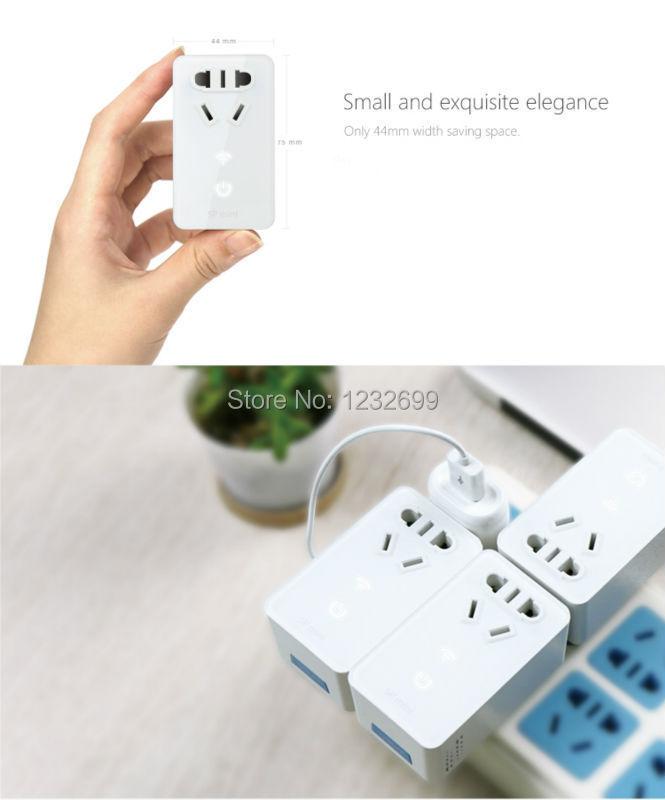 image for Broadlink SP Mini Smart Wireless Remote Control Socket Power Supply Pl