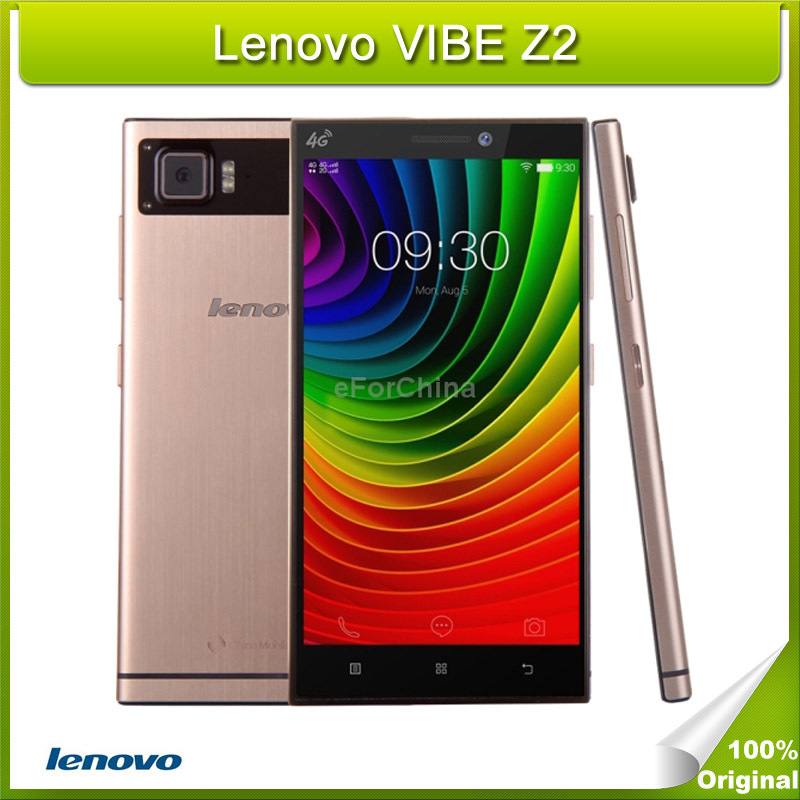 Original Lenovo VIBE Z2 RAM 2GB ROM 32GB Snapdragon410 Quad Core 5.5 inch IPS Android 4.4 Smart Phone 4G FDD-LTE 3000mAh(China (Mainland))