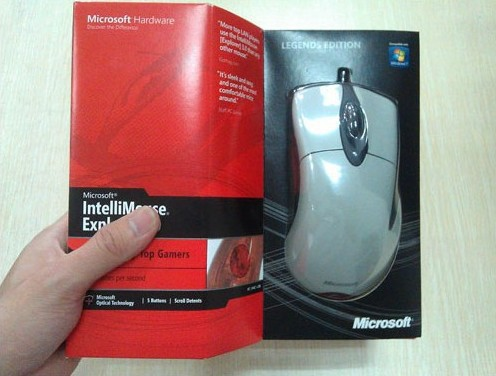 Фотография HKPOST Microsoft IntelliMouse EXPLORER 3.0 legends , IME 3.0 Gaming mouse, Gaming mice Legendary Edition 3.0