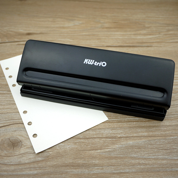 2016 Taiwan Kw-trio Ring Album Metal 6 Holes Adjustable Punch A7 A6 A5 A4 Loose-leaf Hole Puncher - Stationery International Ltd. store