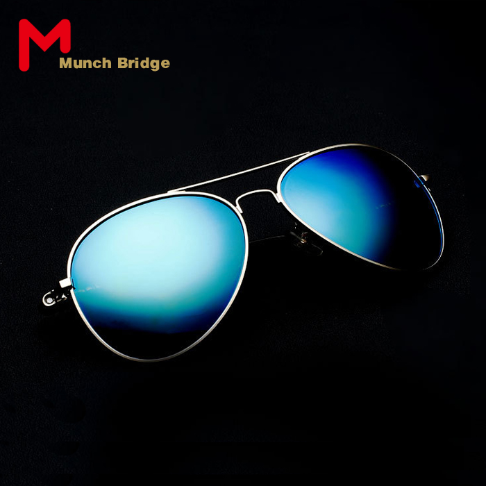 Vintage Pilot Style Sun Glasses Designer Men's Aviator Sunglasses Polarized Outdoors Car Driving Shades Eyewear Accessories(China (Mainland))
