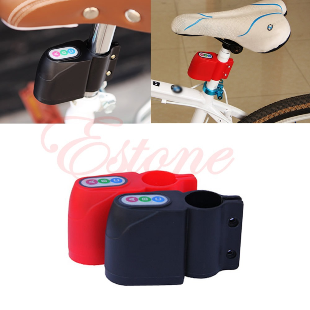 A31 Free Shipping 1PC Bike Alarm Lock Bicycle Motorbike Moped Cycling Security Sound Loud Anti-theft(China (Mainland))