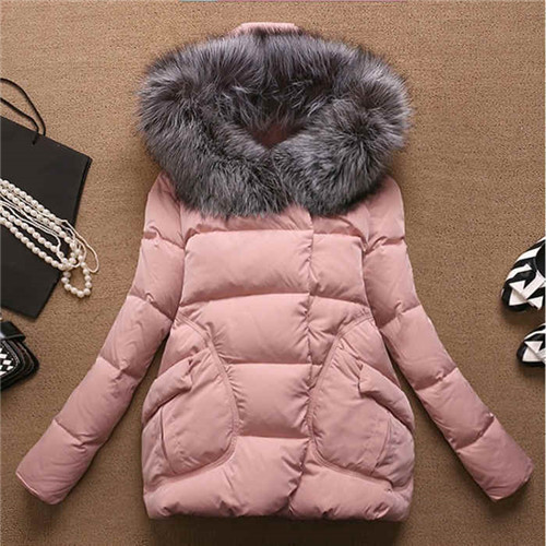 Women\`s Winter Jacket Women 2015Thick Warm Jackets And Coats A Word Parkas Fur Collar With Hood Coat Female Plus Size XXL 5Color (8)
