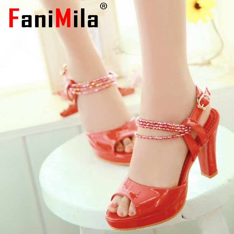 CooLcept free shipping thin high heel sandals women sexy fashion lady platform shoes P13662 hot sale EUR size 31-43
