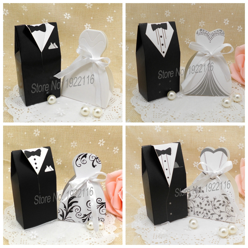 Wedding Gift For Groom And Bride : Bride and Groom Wedding candy Box Gift chocolate boxes wedding gifts ...