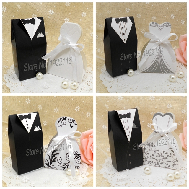 Bride and Groom Wedding candy Box Gift chocolate boxes wedding gifts ...