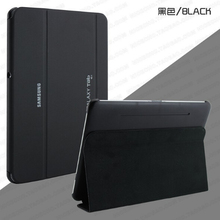 The business Original leather case for samsung galaxy Tab2 10.1 cases p5100 p5110 p7510 book cover Get a protective film + pen