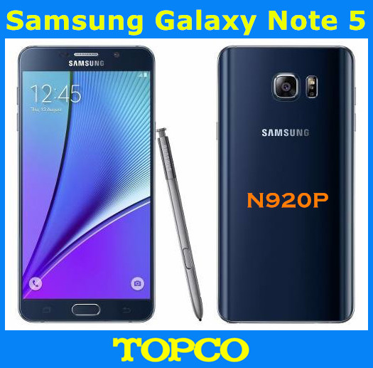 "Samsung Galaxy Note 5 N920P Sprint Version Original Unlocked GSM Android Mobile Phone 4GB 32GB ROM Quad-core&Quad-Core 5.7"" 16MP(China (Mainland))"