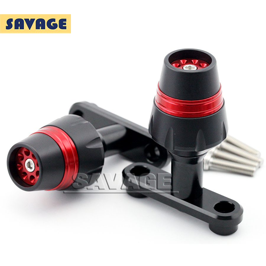For Bajaj Pulsar 200 NS 2012-2014 Red Motorcycle Accessories Frame Sliders Crash Protector Falling Protection New<br><br>Aliexpress