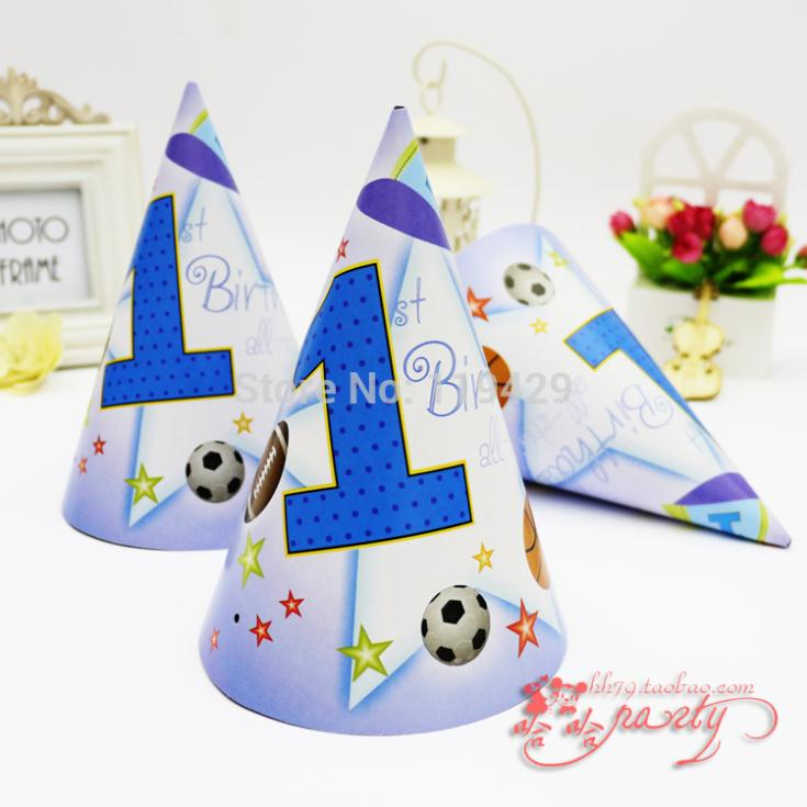 Luxury 1 year kid boy baby happy birthday party decoration for 1 year birthday decoration
