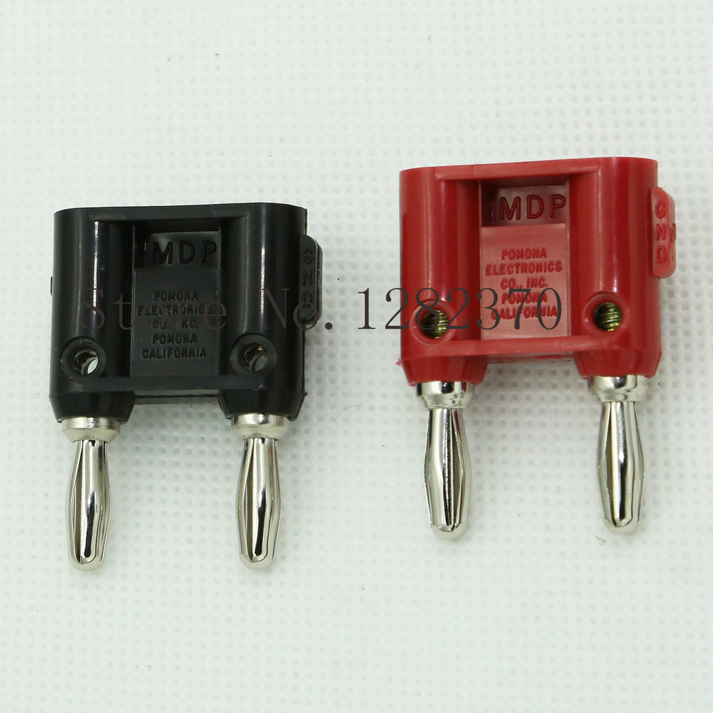 [SA] POMONA original packaging MDP with separate double banana plug plug plug with wire holes DBL --10pcs/lot<br><br>Aliexpress