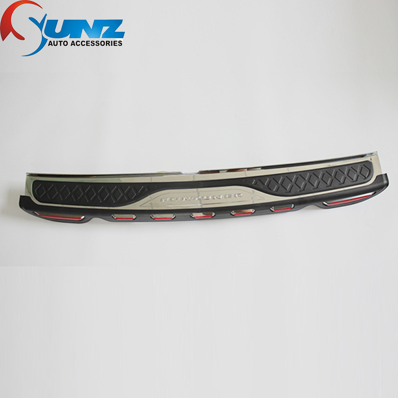 Rear Bumper Step Protector Of Toyota Fortuner Accessories Rear Step Trim For Toyota Fortuner Suv