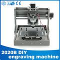 PCB milling machine CNC 2020B DIY cnc wood carving machine mini engraving machine