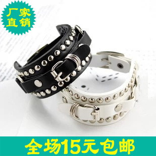 75070 accessories basic rivets buckle bracelet jewelry(China (Mainland))