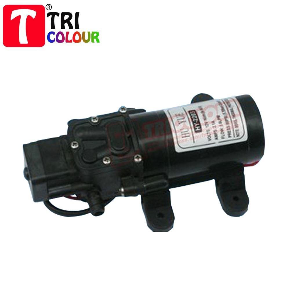 HK POST FREE!!! DC 12V Powerful Mini Car washing pump cleaning device 3-4L/MIN Black 1KG #LR28<br><br>Aliexpress