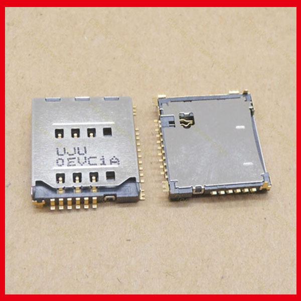 100pcs/lot Original New SIM Card Holder Tray Slot Connector for Samsung S5230 S5233C S3930 F488E M628 B3210 W589
