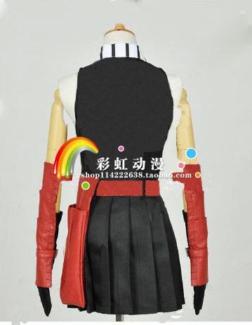 Akame ga KILL Akame Black Uniform Dress Outfit Anime Cosplay Costumes