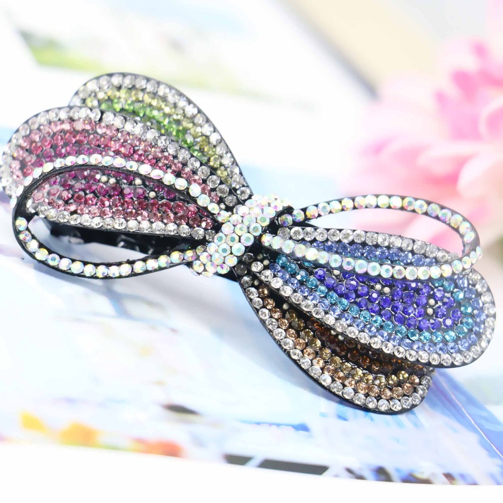35*83mm Hair Accessory Wedding Headdress Butterfly Bows Bowknot Jewelry Making Design Hair band Headpiece Hairpin Bows(China (Mainland))