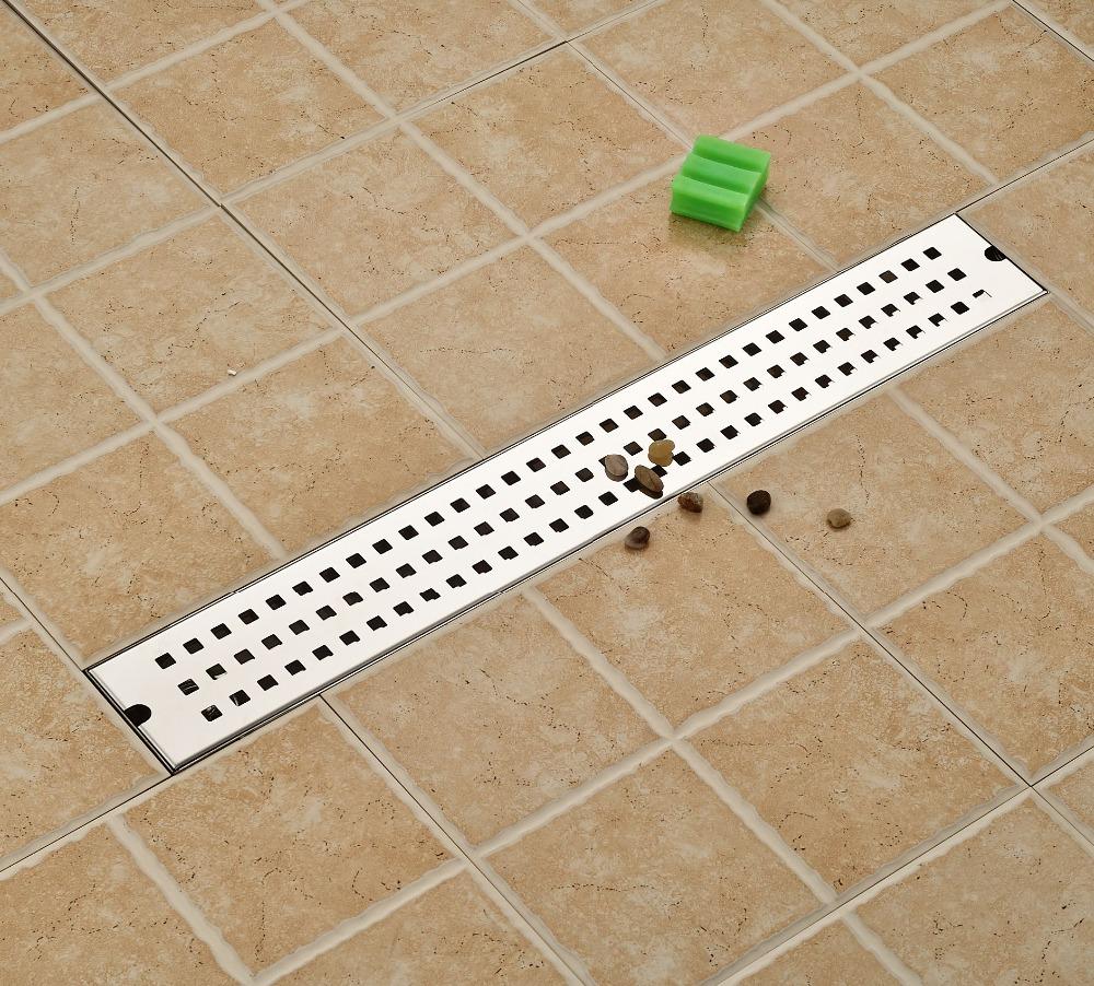 Bathroom floor drain