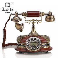 2015 high quality vintage jade table phone fixed antique telephones for home decor(China (Mainland))