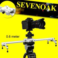 "Buy 23"" Sevenoak SK-LS60 Wholesale Mini Camera Video Slider Track Dolly Gopro Canon Nikon Sigma Sony DV for $99.95 in AliExpress store"