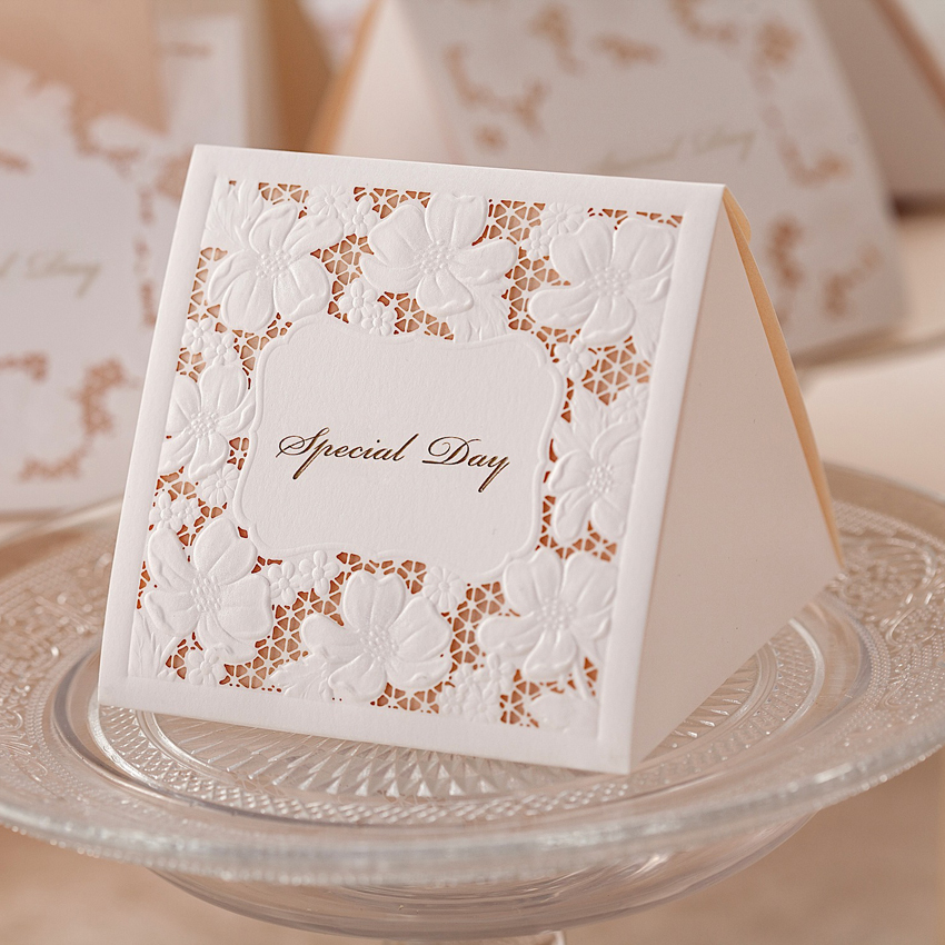 Wedding Favor Boxes White : Aliexpress buy free shipping pcs white wedding