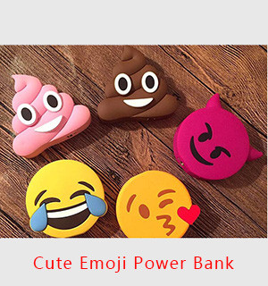 Cute Emoji Power Bank