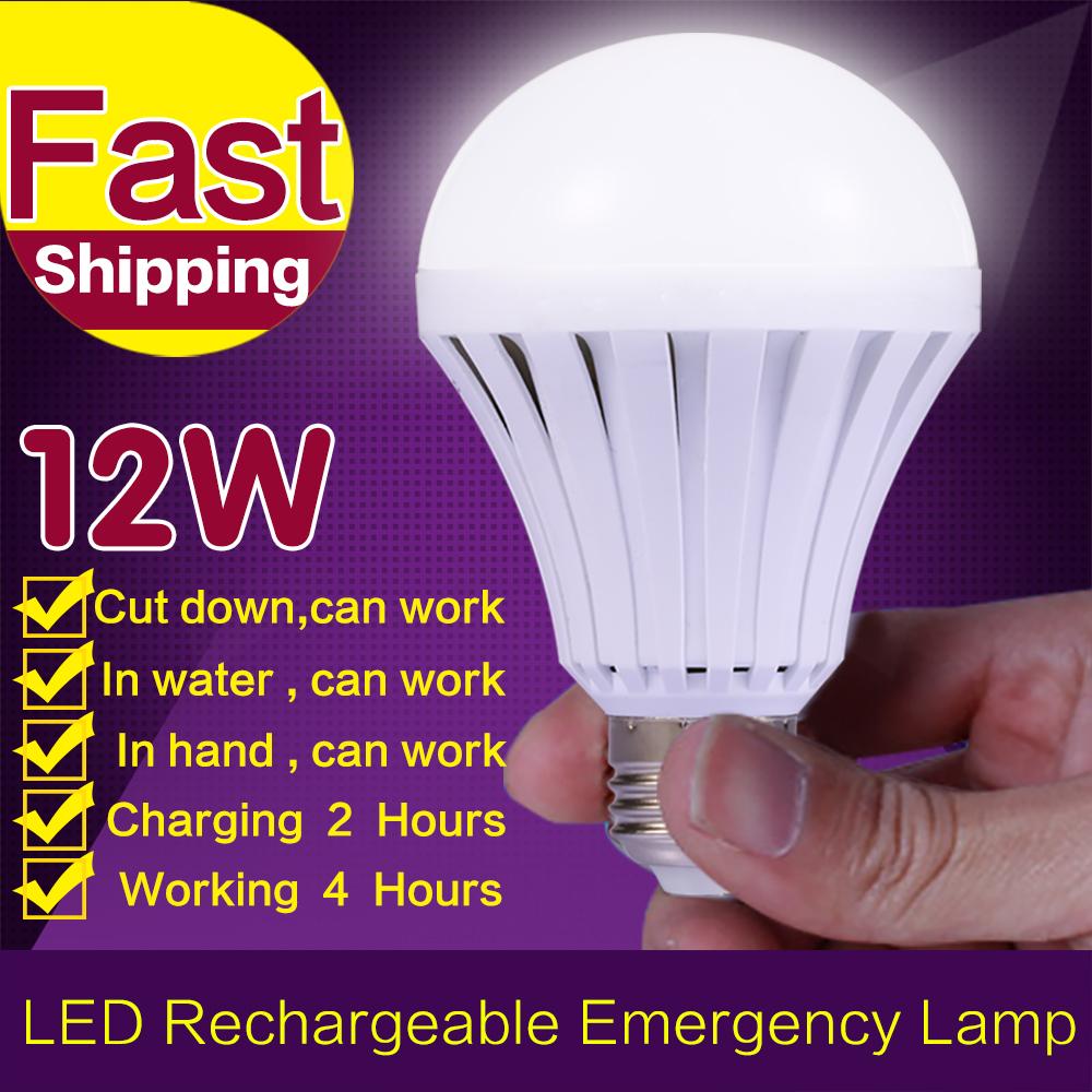 High Power 220V E27 LED Bulb Rechargeable Emergency Lamp Lighting LED Intelligent Magical Bulb B22 E27 Energy Saving Smart Light(China (Mainland))