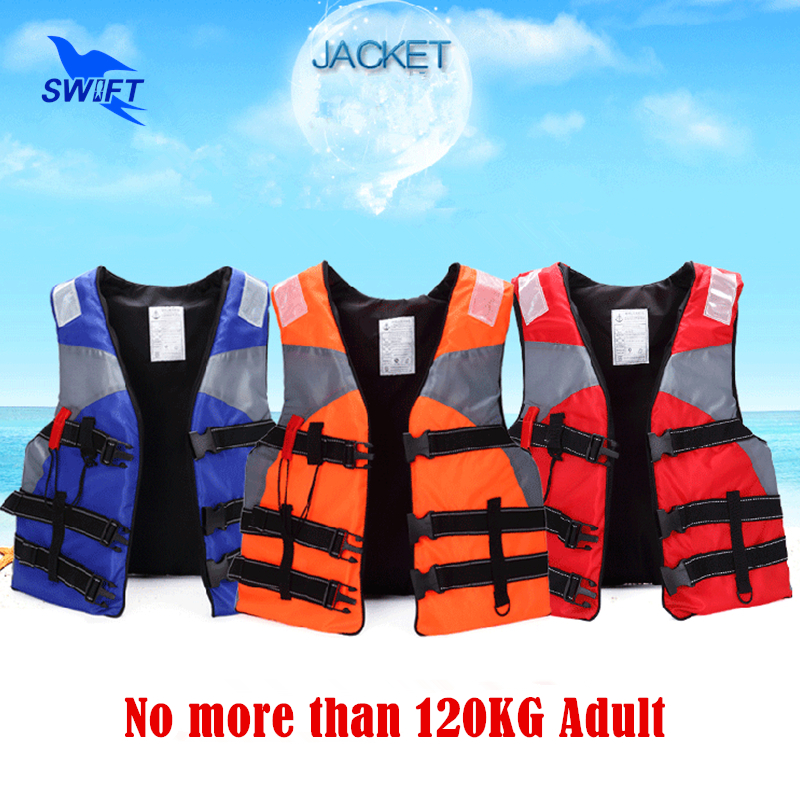 Top Quality Adult Foam Life Vest With Lifesaving Whistle Reflective Tape Cheap Life Jacket For Fishing Swimming Drifting(China (Mainland))