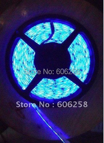 25M LED5050 Soft Light Waterproof Flexible LED Stirps 60leds / m Blue Yellow Green White(China (Mainland))