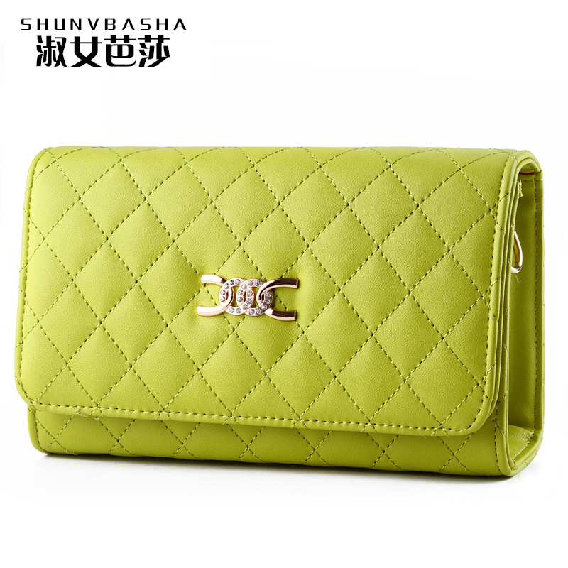 Small Purses Flap High Quality Shoulder Bags Famous Designer Purses And Handbags 2016 Solid Lady Fresh Style Message Bags(China (Mainland))