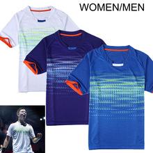 2016 badminton Shirt , ChongWei game jersey, Men / Women Badminton Sports QuickDry T-Shirt , Badminton sportswear
