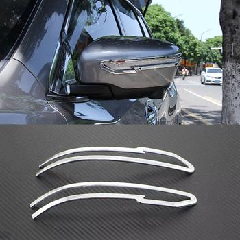 Для Nissan Qashqai J11 2-й 2014 2015 2016 Заднего Вида Автомобиля зеркало Украшения Отделка Внешняя Отделка Зеркало Заднего вида Обложка Отделка полосы