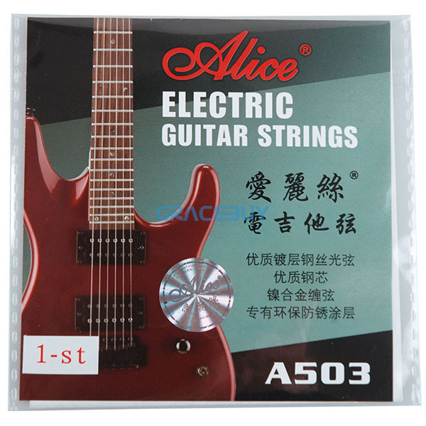 Alice A503 A503SL .009 inch .23 mm 1 1st High E First String for Electric Guitar NEW Free Shipping<br><br>Aliexpress