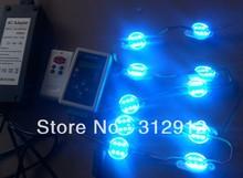 60pcs 1.44w 12V Digital RGB LED WS2801 Pixels+ WS2801 RF controller+ 12V10A power adaptor kit(China (Mainland))