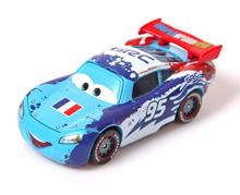 A01-0385 Funny Pixar Cars diecast figure toy Alloy Car Model for kids children toy- Country Edition France NO.95 1pcs