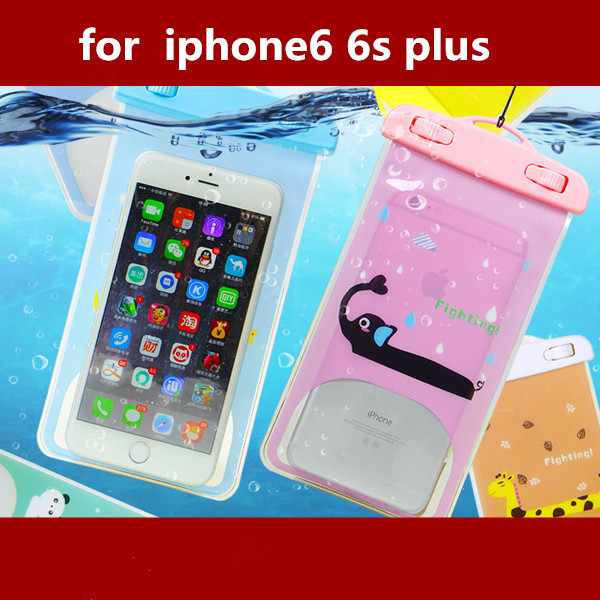 Waterproof Diving Bag For Mobile Phones Underwater Pouch Case For iphone 4s/5s/6/6plus For samsung galaxy s3/s4/s5/Note2/3/4 PVC(China (Mainland))