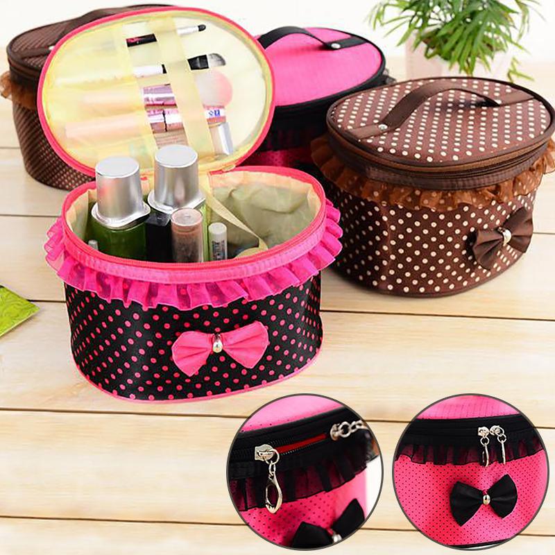 2015 Best Sale Women Cosmetic Bag Travel Makeup Make up Storage Organizer Box Beauty Case(China (Mainland))