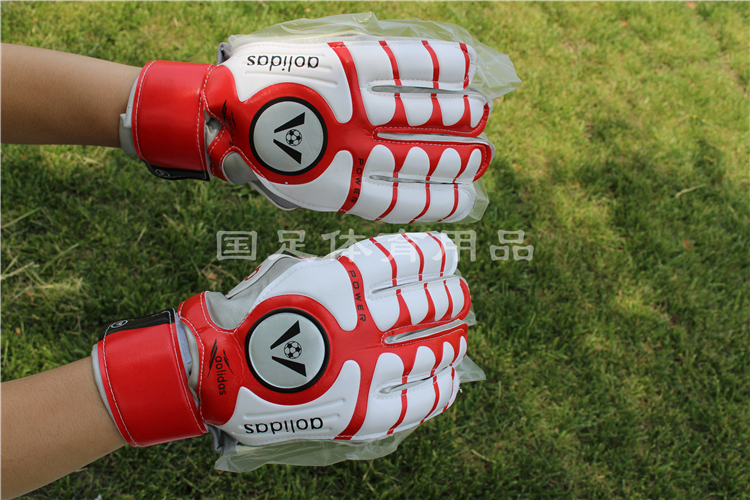 High quality one size professional clearance football goalkeeper gloves with special hand Beck refers to all(China (Mainland))