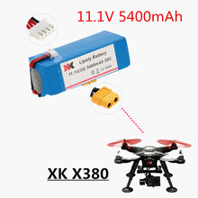 Original XK X380 X380-A X380-B X380-C rc Quadcopter Helicopter 11.1V 5400mAh 20C Lipo Battery