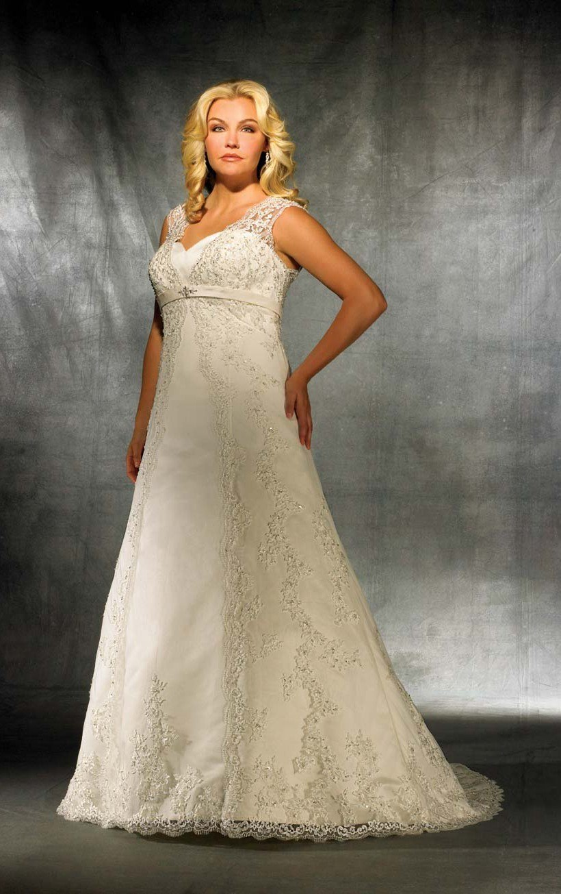 Lace Ivory Plus Size
