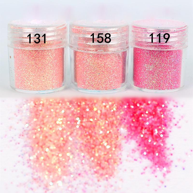 1Box 10ml Pink Shining Nail Glitter Powder Nail Art Dust Tips Nail Art Decoration for nail polish M02113(China (Mainland))