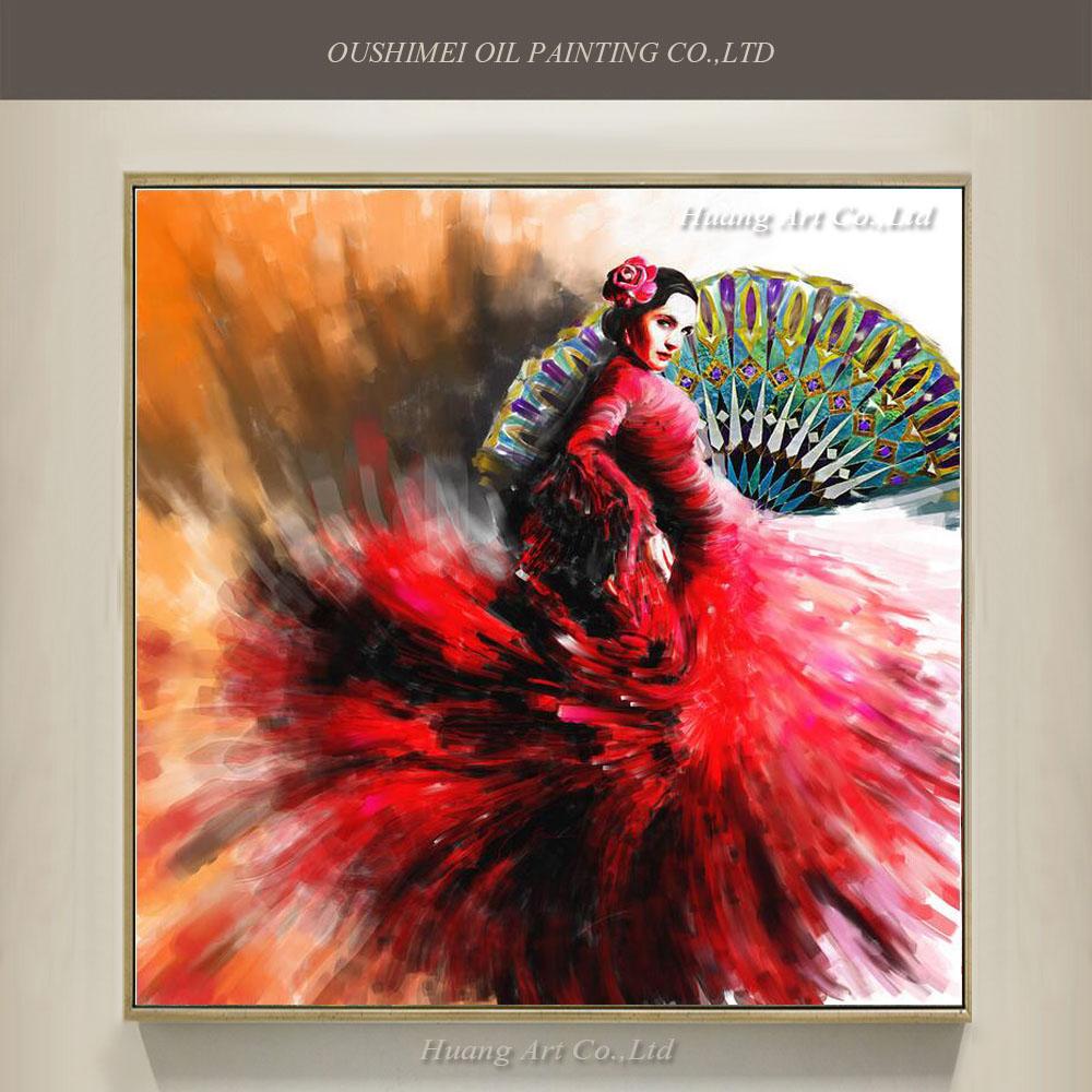 Vente en gros espagnol flamenco peintures d 39 excellente qualit de grossistes chinois espagnol for Peinture de qualite