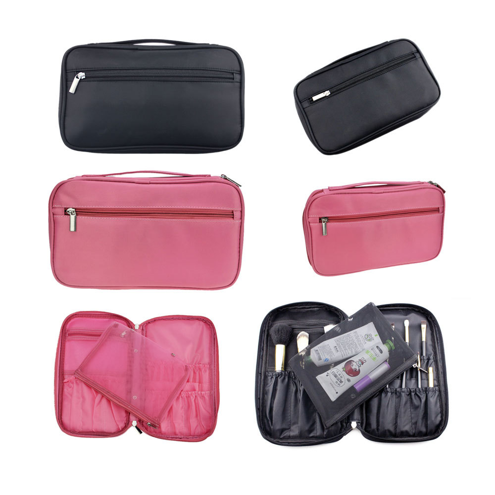 New Hot Sale 20 pcs Brushes or Other Cosmetic Accessories Brush Bags, Fashion Design For Women Travel Bags Makeup Organizer(China (Mainland))