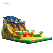Commercial Giant Inflatable Slide Fun Junglle Toy Game For Adults(China (Mainland))