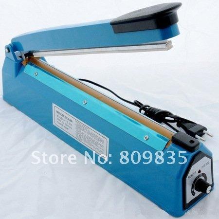 6pcs/lot FS--300 Plastic bag Hand sealing machine, max Sealing length 300mm,220 Volt - Side Cutter Type