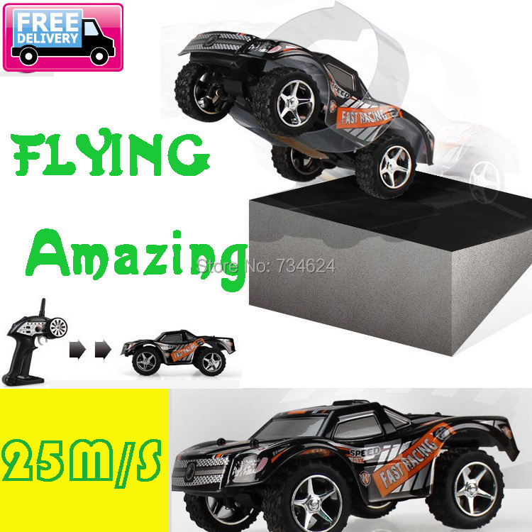 WL TOYS RC Car TOP Speed to 25m/s 3D Flip  Electric High Speed Remote Radio Control RC vehicle Machines(China (Mainland))